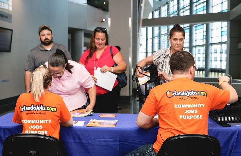 Orlandojobs Com Job Fair Oct 5 2018 At Amway Center